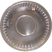 Reed Barton Silver Vintage Serving Plate Three Plates