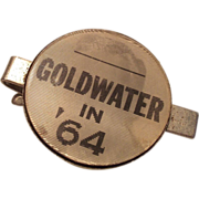 1964 Barry Goldwater Flicker Tie Clip
