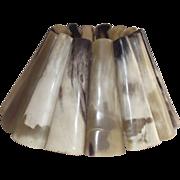Horn Lamp Shade Hand Made