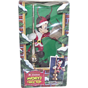 SOLD Mickey Mouse Lighted & Animated Christmas Tree Topper