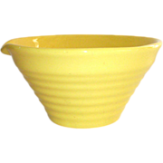 SOLD Bauer Ring Ware Pour Spout Mixing Bowl