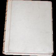 Large Vintage Court - Judges - Law -Legal Record Book Unused