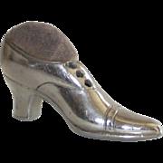 Japanese Ladies Shoe Pin Cushion C 1919
