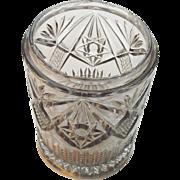 Early EAPG Pickle Castor Glass Insert