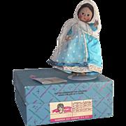 "Madame Alexander 7 1/2"" India Doll LNIB  #575"