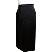 Classic Fine Wool Straight Maxi Skirt.  Fashion Wardrobe Must.  Size 18-20.  Mint Condition.