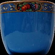 Royal Staffordshire Pottery, Wilkinson Ltd.  Jardinière / Planter.  Royal Blue Decorated.