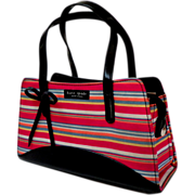 SOLD Kate Spade Designer Purse.  Classic Stripes.