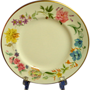 4 ROYAL WORCESTER  Bread and Butter Plates.   Kentmere Pattern.  Perfect Condition.