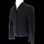 RALPH LAUREN Short Jacket.  Black.  Size 6 Petite.  As New Condition.