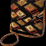Designer DIANE LOVE Convertible Envelope Clutch and Shoulder Bag.  Exquisite.  As New Conditio