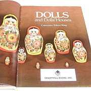 DOLLS  and Dolls' Houses.  Gorgeous illustrations.  Fantastic reference!!  Huge!