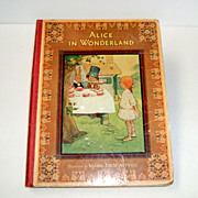 Alice in Wonderland. Raphael Tuck Publisher.  c. 1923.  Mabel Lucie Attwell  Illustrations!!