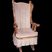 Newport Glider Upholstered Platform Rocking Chair