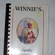 Regional Spiral Winnie's Family Cookbook Signed Copy