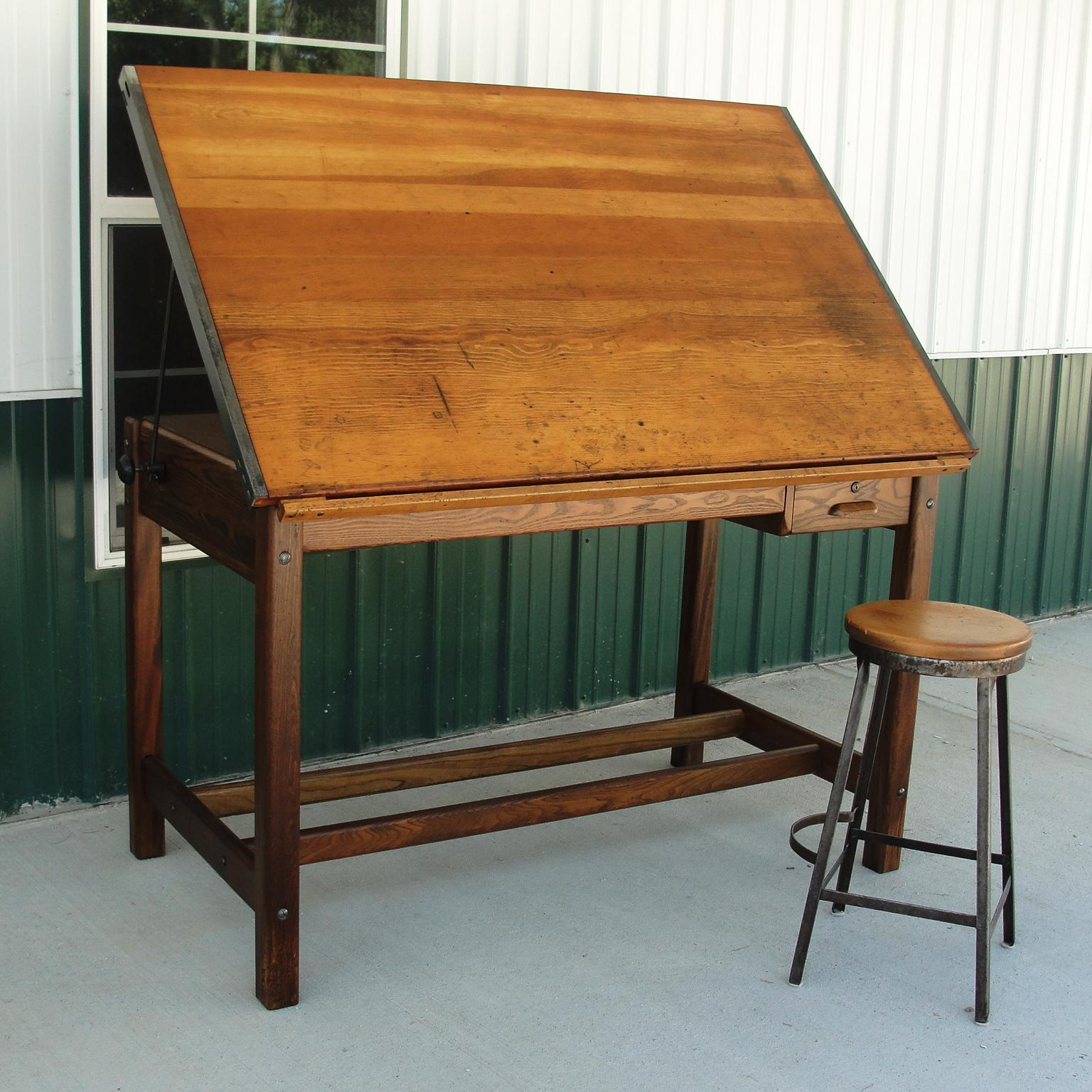Antique Drafting Tables Furniture Anco Table
