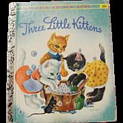 SOLD Little Golden Book 1942 Three Little Kittens