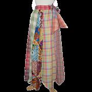 Boho Vintage 1970's Maxi Skirt