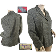1950's Women's Tweed Business Suit Jacket