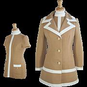 1960's Lilli Ann 2-piece Mini Dress and Coat