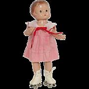 1930's Effanbee Vintage Patsyette Doll ~ Skating
