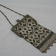 Vintage 1920 Mandalian Mesh Flapper Art Deco Purse