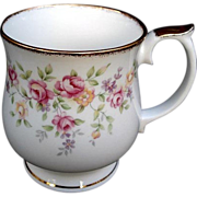 Beautiful Elizabetham Staffordshire Footed Cup