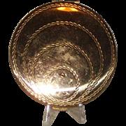 Vintage Gold-tone Volupt Compact
