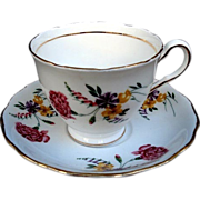 SALE COLCLOUGH Made in England Teacup-Saucer