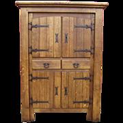 SOLD Spanish Antique Cabinet Server Sideboard Antique Furniture
