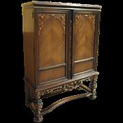 SOLD American Antique Berkey & Gay China Cabinet Server Antique Furniture!