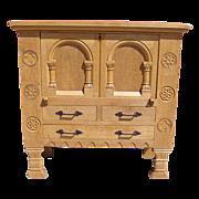 SOLD Antique Furniture French Antique Rustic Server Sideboard!