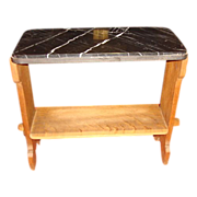 Antique Side Table Antique Marble Top Table Antique Furniture