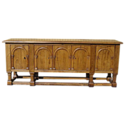 SOLD Antique Furniture Spanish Antique Sideboard Cabinet!