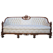 SALE PENDING Antique Carved Sofa Couch Loveseat Antique Furniture