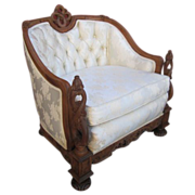 SALE PENDING Antique Chair Armchair Carved Chair Antique Furniture