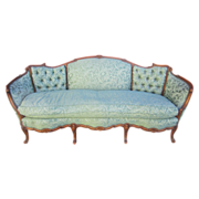 SALE American Antique Carved Sofa Couch Loveseat Antique Furniture