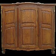 French Antique Three Door Armoire Antique Furniture