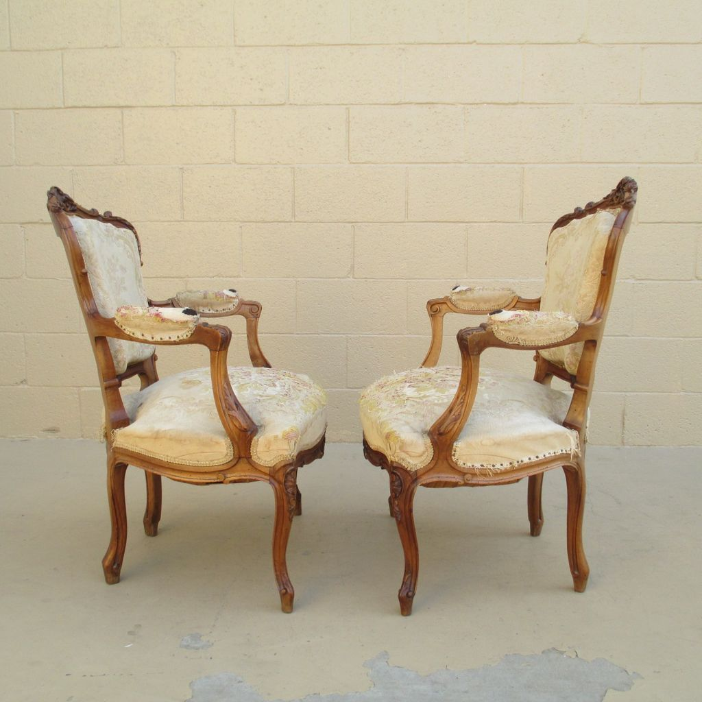 French antique louis xvi arm chairs antique furniture from