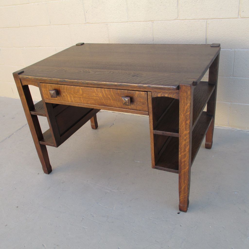 Antique Mission Oak Desk - Antique Mission Oak Desk Antique Furniture