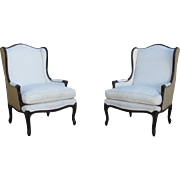 SALE PENDING Pair of French Antique Arm Chairs Antique Furniture