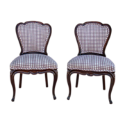 SOLD French Antique Walnut Parlor Dining Chairs Antique Furniture