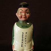 """Oriental Gentleman"" Figural Laundry Sprinkler Bottle"