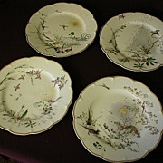 "Set of 4 - Haviland China ""Theatre Des Saisons"" Collector's Plates"