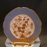 SALE PENDING Set of 4 Jean Pouyat (JPL) Limoges Hand Painted Salad/Dessert Plates w/Encrusted
