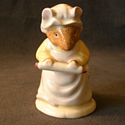"""Royal Doulton """"Mrs Crusty Bread"""" Figurine From Brambly Hedge Collection"""