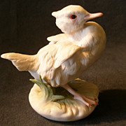 """Cybis Porcelain """"Baby Brother"""" Duckling Figurine #361"""