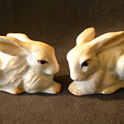 SOLD Goebel Porcelain - Pair of Rabbits #34-807-06