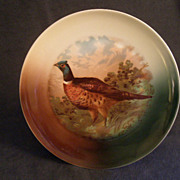 "Z.S. & Co. Bavaria ""Cock Pheasant"" Game Plate"