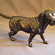 Royal Doulton DA145 Black Labrador, Standing Figurine